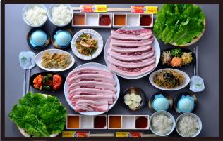サムギョプサル食べ放題コース